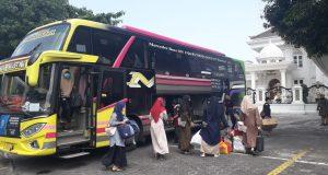 SAHI Bali Sambut Kedatangan Santri PP. AL Rafa'i Gedonglegi Malang Asal Denpasar