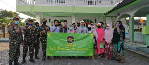 Gandeng PC GP Ansor Jembrana, Bali Muallaf Development Gelar Bakti Sosial di Desa Tegal Badeng Timur