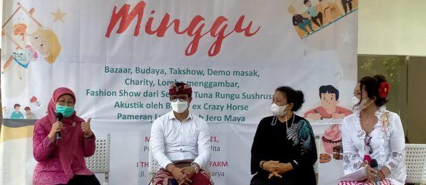 """Upaya Dukung Pelaku UMKM, PERTIWI Bali Gelar """"Pasar Minggu"""""""