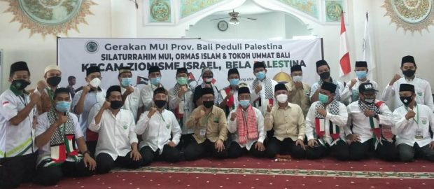 Gerakan MUI Bali Peduli Palestina: Kecam Israel, Bela Palestina
