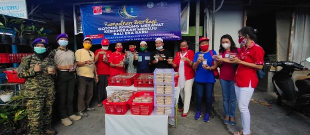 Terinspirasi Gus Dur, INTI Bali Bagikan 500 Takjil Gratis Setiap Hari Jelang 10 Hari Terakhir Ramadhan