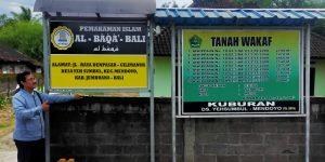 AL BAQA' Yeh Sumbul Jembrana, Solusi Keterbatasan Tanah Pemakaman Muslim di Bali